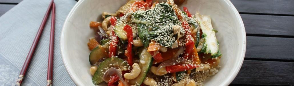 Vegetarian Stir Fry |www.healthymealstoyourdoor.com.au/beta