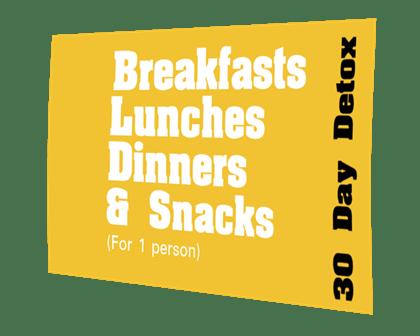 30 day weight loss detox - healthy meals to your door