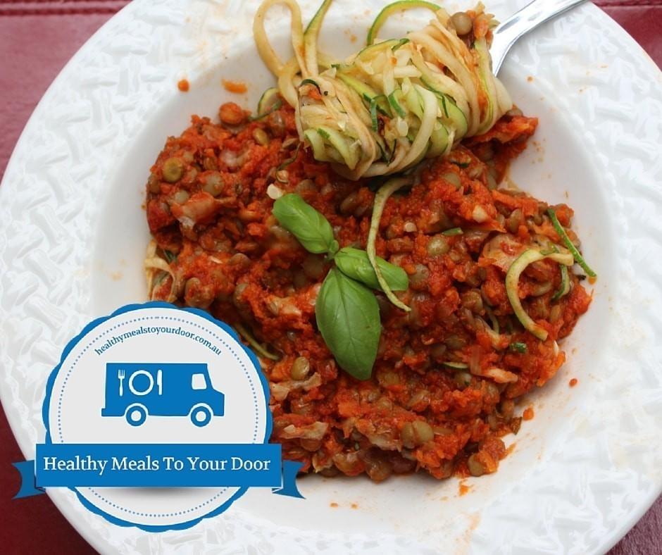 home delivered vegan meals